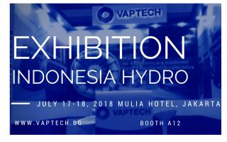 VAPTECH AT ELECTRICITY, POWER GENERATION & INDEPENDENT POWER PRODUCER EXHIBITION 2018
