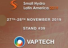 VAPTECH at Small Hydro Latin America 2019