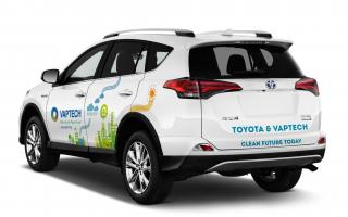 Toyota and Vaptech – Continuous partnership for a Clean future!